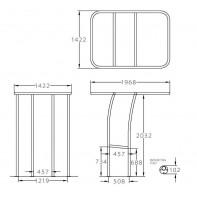 Art. 363.02 T-Top in alluminio