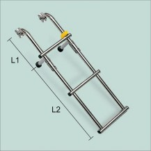 Art. 141.07 Stainless steel boarding ladder