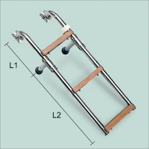 Art. 141.15 Stainless steel boarding ladder with nylon steps