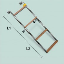 Art. 141.18 Stainless steel boarding ladder with nylon steps