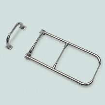 Art. 141.22 Scaletta in acciaio inox con maniglia per barca a vela