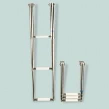 Art. 141.31 Scalette telescopiche a scomparsa per plancette in acciaio inox