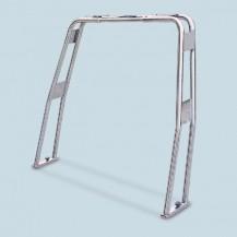 Art.330.00 Roll-bar ribaltabile in acciaio inox Aisi 316