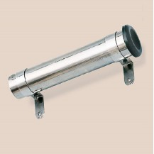 Art. 160.01 Stainless steel 316 pole holders polished with protective rubber sleeve