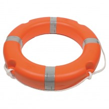 Art. 340.31 Lifebuoy ring, solas, polyethylene outer structure, filled with polyurethane foam Ø 63x40 cm