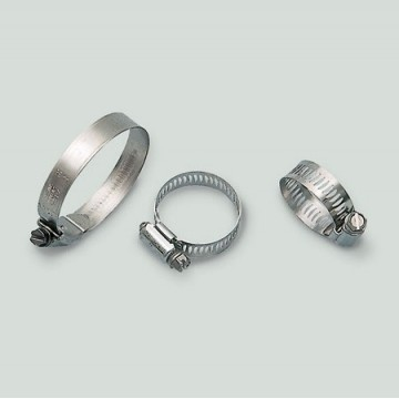 Art. 200.00 Polished stainless steel clamps