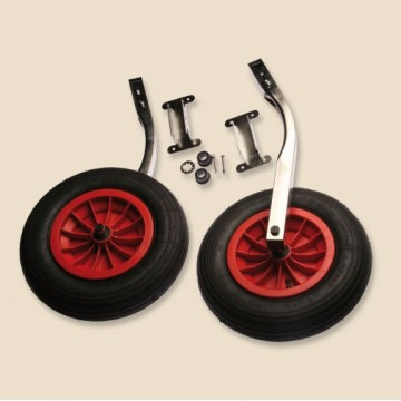 Art. 334.00 Stainless steel pipe with rubber inflatable wheels