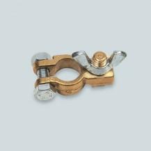 Art. 347.00 Coppia morsetti in bronzo per batteria