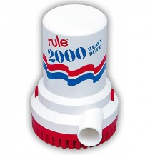 Art. 346.05 RULE submersible bilge pumps 2000 G.P.H.