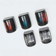 Art.177.12 Navigations lights in black polycarbonate