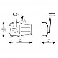 Art. AL.606 Scatola telecomando