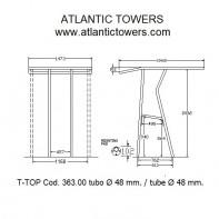 Art. 363.00 Aluminium T-Top
