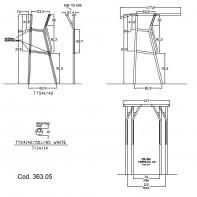Art. 363.05 Commercial duty fiberglass T-Top