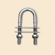 Art. 128.00L Stainless steel U bolts