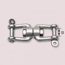 Art. 336.00 Swivel stainless steel AISI 316