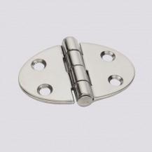 Art. 175.30 Polished stainless steel hinge