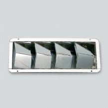 Art. 179.04 Louver ventilators inox polished