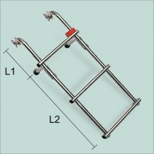 Art. 141.00 Stainless steel boarding ladder