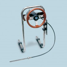 Art. P.65 Steering system for inflatable boats
