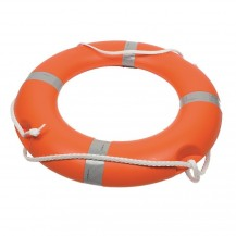 Art. 340.30 Lifebuoy ring, solas, polyethylene outer structure, filled with polyurethane foam Ø 75x44 cm