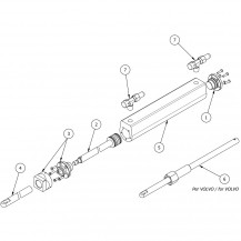 Art. 00.0007.00 MC150E cylinder spare parts
