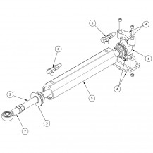 Art. 00.0013.00 CE1000 cylinder spare parts